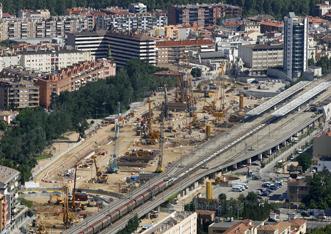 Proyecto de urbanización de la cubierta de la estación de Girona (Fase I)